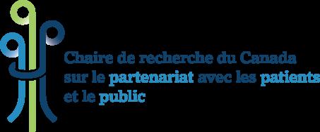Chaire de recherche du Canada sur le partenariat avec les patients et le public